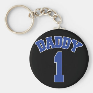 DADDY 1 - For Number One Daddy Keychains