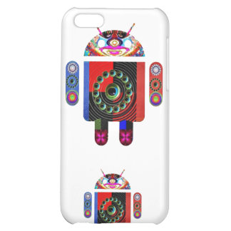 Daddy and Baby Android - Art101 by Navin Case For iPhone 5C