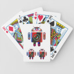 Daddy and Baby Android  -  Art101 by Navin Bicycle Card Deck