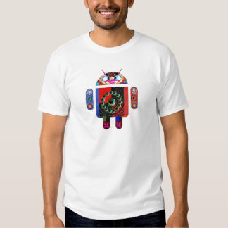 Daddy and Baby Android  -  Art101 by Navin T-Shirt