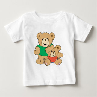 Daddy and Baby Boy Bear Baby T-Shirt