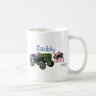 Daddy and Me Girl Tractors Coffee Mug