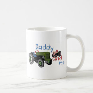 Daddy and Me Girl Tractors Coffee Mug