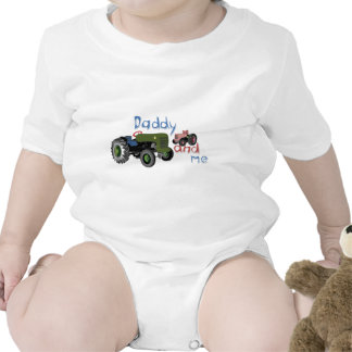 Daddy and Me Girl Tractors Tee Shirts