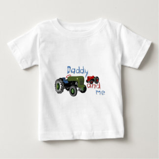 Daddy and Me Tractors Baby T-Shirt