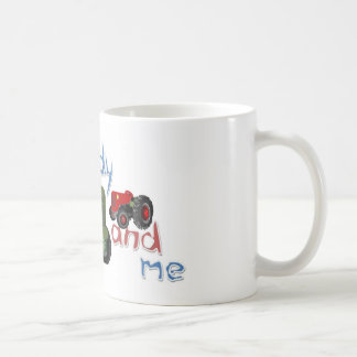 Daddy and Me Tractors Coffee Mug