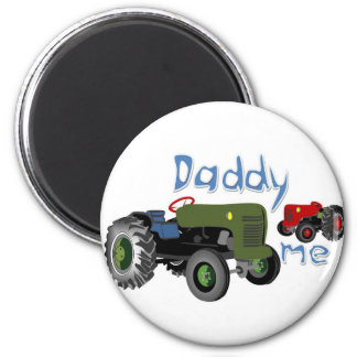 Daddy and Me Tractors Magnet