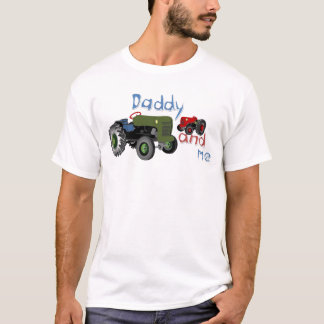 Daddy and Me Tractors T-Shirt