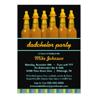 diaper party invitations  announcements  zazzle, Party invitations