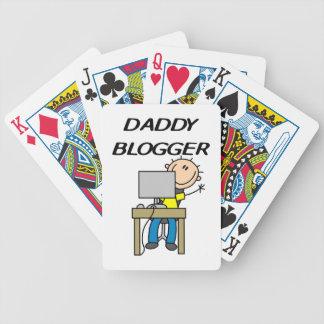 Daddy Blogger Bicycle Card Decks