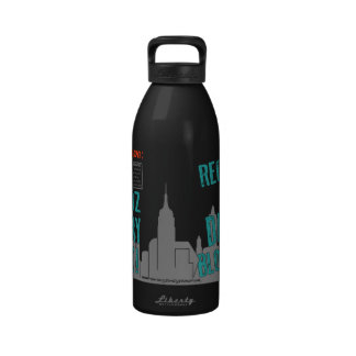 Daddy Bloomberg 32oz Sugary Drink Bottle Reusable Water Bottle