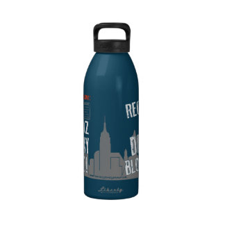 Daddy Bloomberg 32oz Sugary Drink Bottle Water Bottle