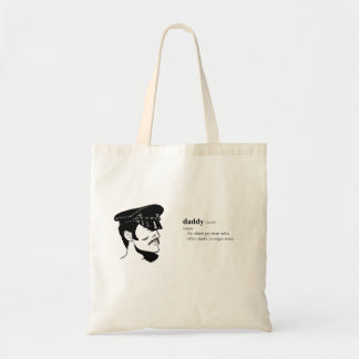 DADDY BUDGET TOTE BAG