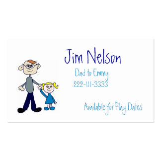 Daddy Business Card