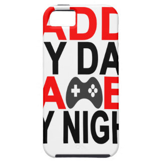 Daddy by Day Gamer by Night T Shirt '.png iPhone SE/5/5s Case