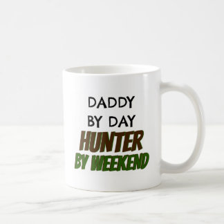 Daddy by Day Hunter by Weekend Coffee Mugs