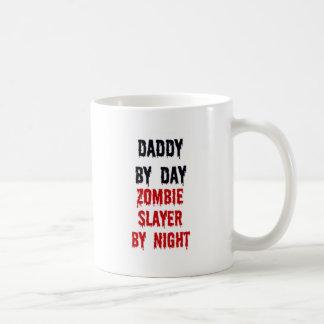 Daddy By Day Zombie Slayer By Night Coffee Mugs