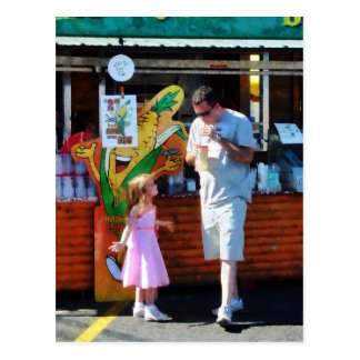 Daddy, Can I Have My Drink Back?c Postcard