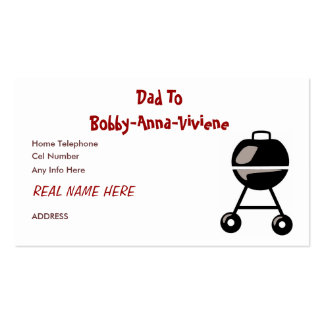 DADDY CARD BUSINESS CARDS