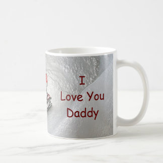 Daddy Christmas - I Love You Penguin Coffee Mug