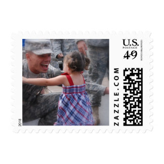 Daddy Come Home Postage Stamps