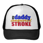 Daddy Conquered Stroke Mesh Hats