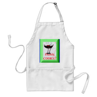 Daddy Cooks!! Adult Apron