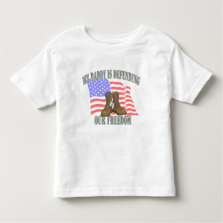 Daddy Defending Our Freedom Toddler T-shirt