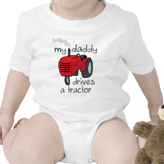 Daddy Drives A Tractor Shirts