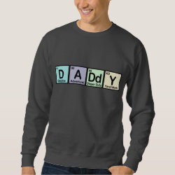 Men's Basic Sweatshirt with Daddy design