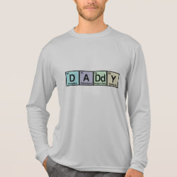 Men's Sport-Tek Competitor L/S T-shirt with Daddy Elements design
