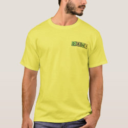 Men's Basic T-Shirt with Daddy Elements design