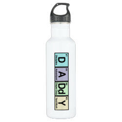 Water Bottle (24 oz) with Daddy Elements design