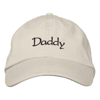 Daddy Embroidered Baseball Cap