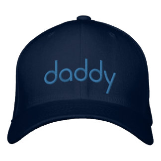 Daddy - Embroidery Embroidered Baseball Cap