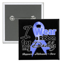 Daddy - Esophageal Cancer Ribbon Buttons