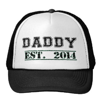 Daddy Est. 2014 - New Dad or Soon-to-be-Dad Gift Trucker Hat