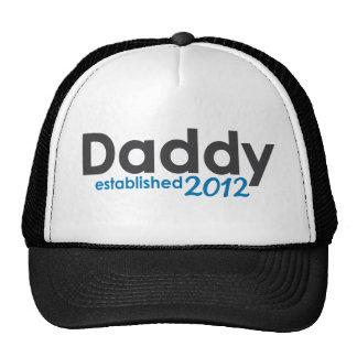 daddy established 2012 trucker hat