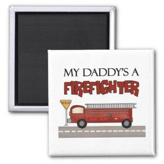 Daddy Firefighter Children's Gifts Fridge Magnet