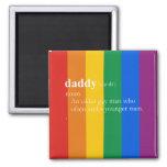 DADDY FRIDGE MAGNET