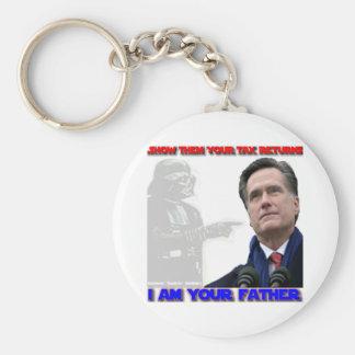 Daddy George Romney Basic Round Button Keychain