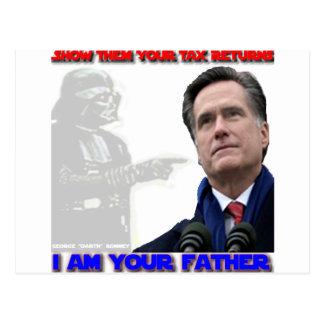 Daddy George Romney Postcard