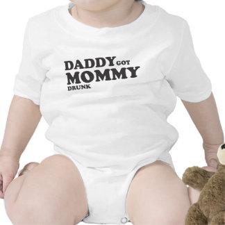 Daddy got mommy drunk bodysuits
