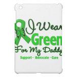 Daddy - Green Awareness Ribbon iPad Mini Cover