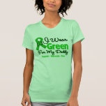 Daddy - Green  Awareness Ribbon Tee Shirt