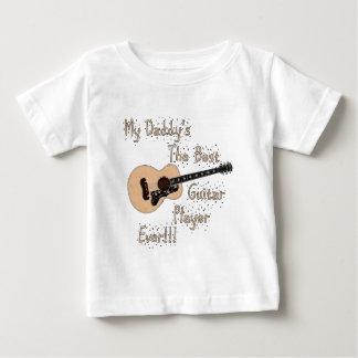 Daddy Guitar Baby T-Shirt