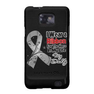 Daddy Hero in My Life Brain Cancer Samsung Galaxy S2 Case