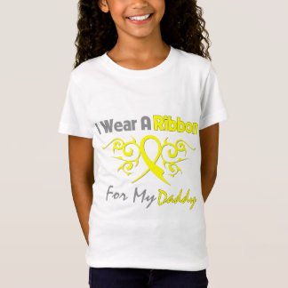 Daddy - I Wear A Yellow Ribbon Military Support T-Shirt