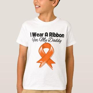 Daddy -I Wear Orange Ribbon Stylish T-Shirt