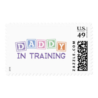 Daddy In Training Postage